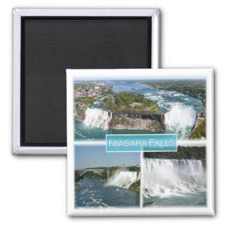 Aimant CA * le Canada - chutes du Niagara Etats-Unis