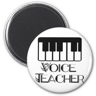 Aimant Cadeau de professeur de musique de voix