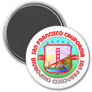 Aimant Cadeau de San Francisco la Californie