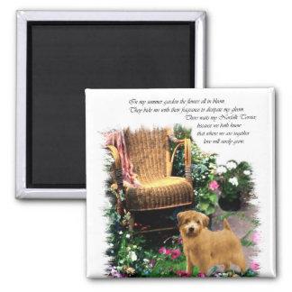 Aimant Cadeaux d'art de Norfolk Terrier