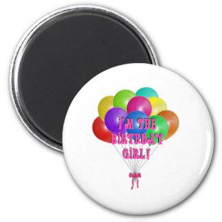 Aimant Cadeaux de fille d'anniversaire