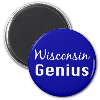 Aimant Cadeaux de génie du Wisconsin