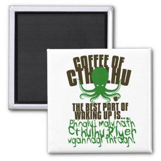 Aimant Café de Cthulhu pour votre réfrigérateur