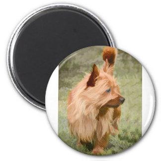 Aimant Cairn Terrier - peinture