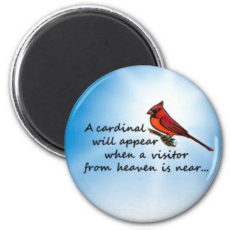 Aimant Cardinal, visiteur de ciel