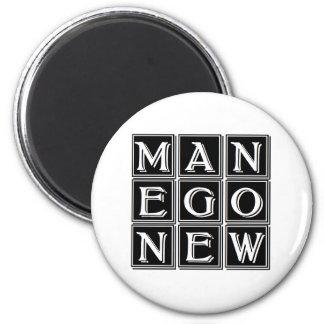 Aimant carré magique new man now