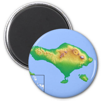 Aimant Carte de Bali