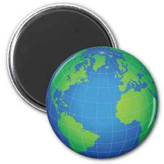 Aimant Carte de globe du monde