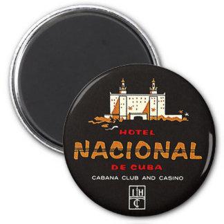 Aimant Casino vintage de club de Nacional De Cuba d'hôtel