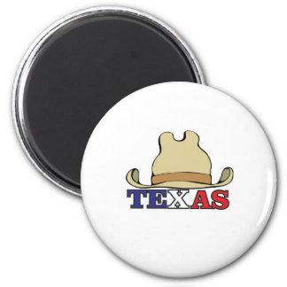 Aimant Casquette de cowboy le Texas