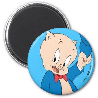 Aimant Casquette de ondulation gros du porc |