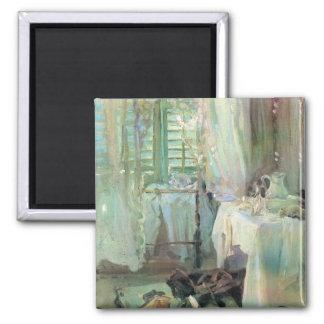 Aimant Chambre d'hôtel par Sargent, beaux-arts victoriens