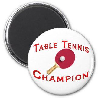Aimant Champion de ping-pong