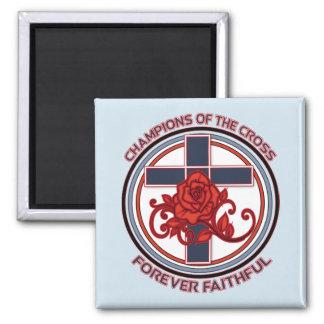 Aimant Champions de l'aimant de carré de croix
