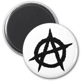 Aimant Chaos punk de signe de culture de musique de noir