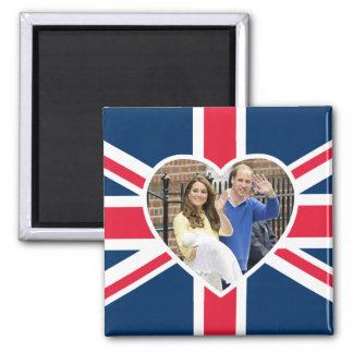 Aimant Charlotte Elizabeth Diana - les Anglais veulent