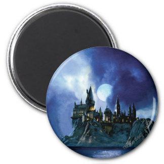Aimant Château de Harry Potter | Hogwarts la nuit