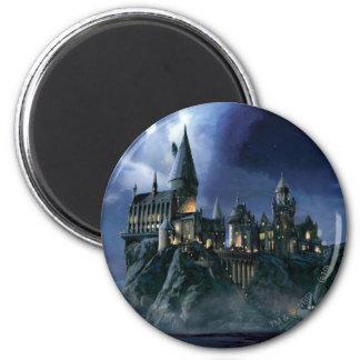 Aimant Château | Hogwarts éclairé par la lune de Harry