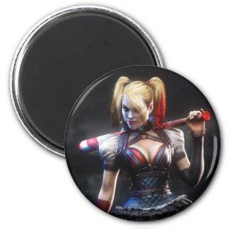 Aimant Chevalier de Batman Arkham | Harley Quinn avec la