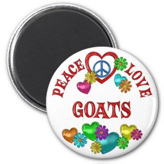 Aimant Chèvres d'amour de paix