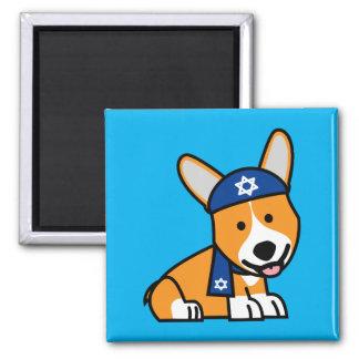 Aimant Chiot juif heureux de chien de Corgis de corgi de