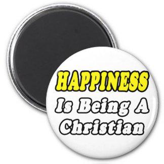 Aimant Chrétien de bonheur…