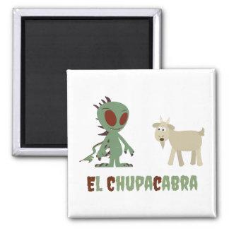 Aimant Chupacabra d'EL