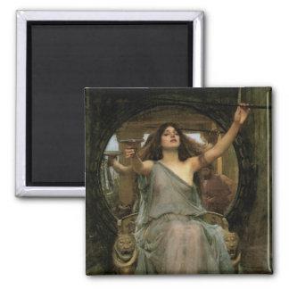 Aimant Circe offrant la tasse à Ulysse par le château