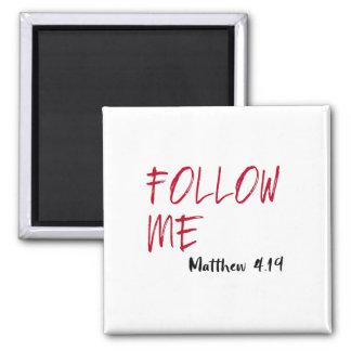 Aimant Citation à marquer d'une pierre blanche de Jésus :