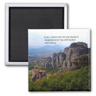 Aimant Citation d'Aristote de monastère du mont Olympe