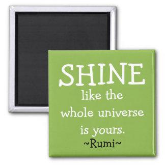 Aimant Citation de motivation de Rumi