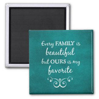 Aimant Citation inspirée de famille