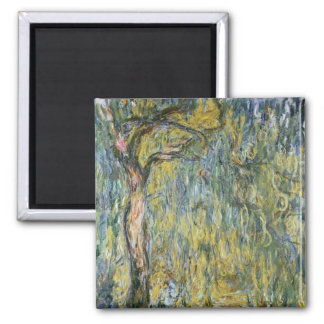 Aimant Claude Monet | le grand saule chez Giverny, 1918
