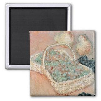 Aimant Claude Monet | le panier des raisins, 1884