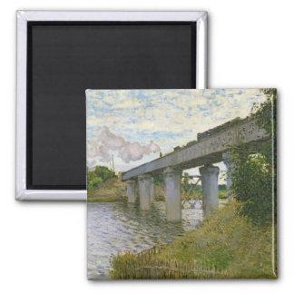 Aimant Claude Monet | le pont de chemin de fer à