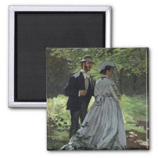 Aimant Claude Monet | les auditeurs d'un