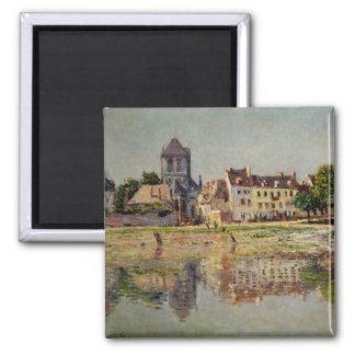 Aimant Claude Monet | par la rivière chez Vernon, 1883