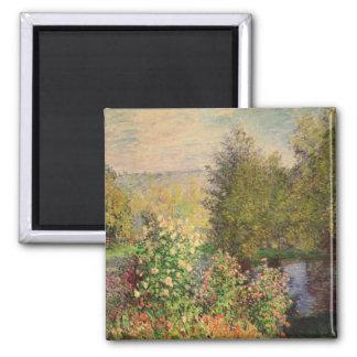 Aimant Claude Monet | un coin du jardin chez Montgeron