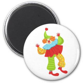 Aimant Clown amical coloré dans la ruche à Outfi
