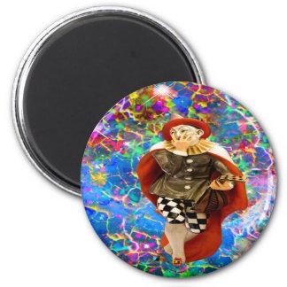 Aimant Clown Troubadour
