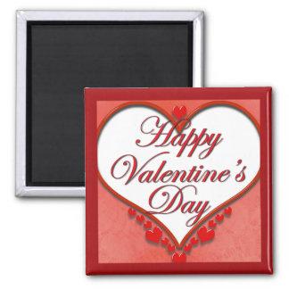 Aimant Coeur perlé Valentine