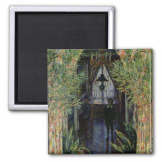 Aimant Coin de Claude Monet | d'un appartement à