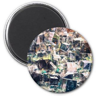Aimant Collection chaotique de cubes