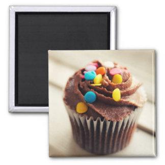 Aimant coloré de photographie de petit gâteau