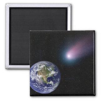 Aimant Composé de Digitals d'un titre de comète vers l'ea