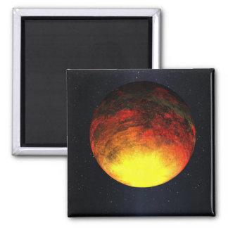 Aimant Concept d'artiste de Kepler-10b