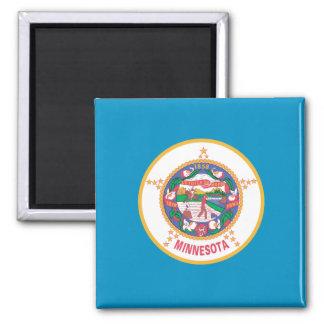 Aimant Conception de drapeau du MINNESOTA -