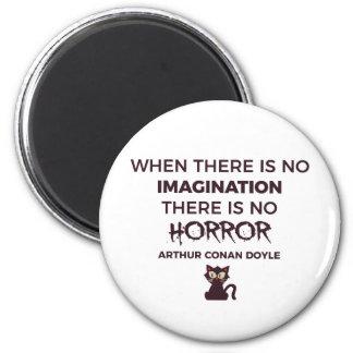 Aimant Conception effrayante effrayante de Halloween