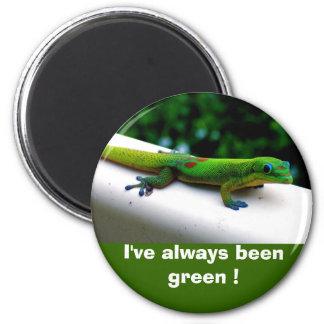 """Aimant Conservation """"pensez vert"""""""