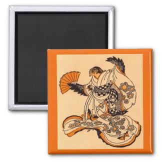 Aimant Conte de fées japonais le moineau de coupe de